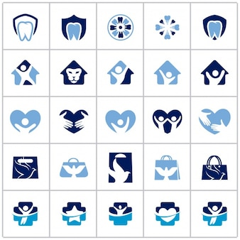 Diverse logo collectie