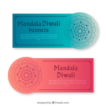 Diwali banners collectie