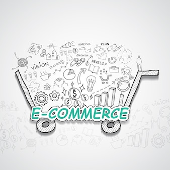 E-commerce illustratie