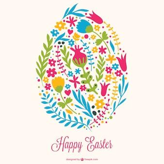 Easter egg decoratief ontwerp