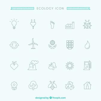 Ecologie pictogrammen