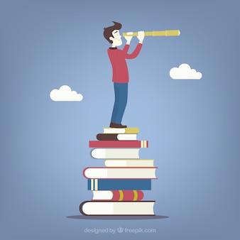 Educatieve toekomstig concept