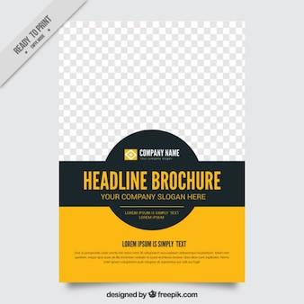 Eenvoudige brochure template