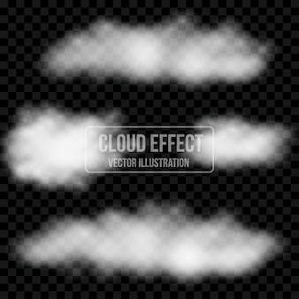Effect template transparant cloud