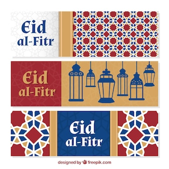 Eid al-fitr decoratieve achtergrond