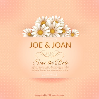 Elegant huwelijk uitnodigingskaart