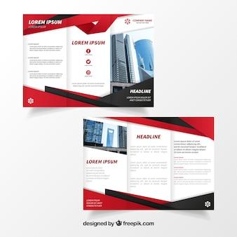 Elegante zakelijke brochure