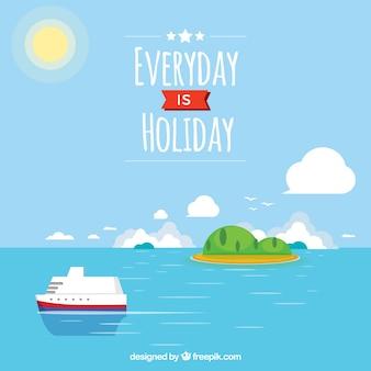 Elke dag is vakantie