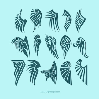 Engelenvleugels tatoeages