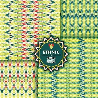 Etnische naadloze patroon