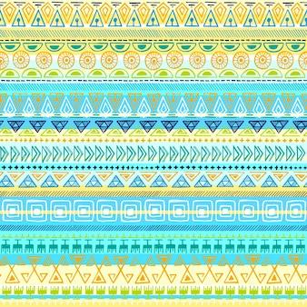 Etnische stammen naadloos patroon