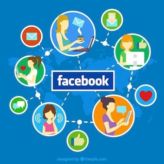 Facebook sociale media