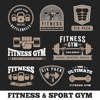 Fitness emblemeninzameling