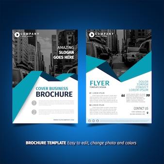 Flyer template ontwerp
