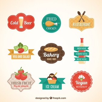 Food badges