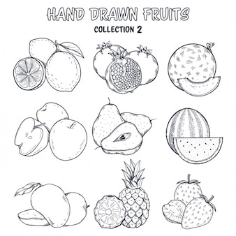 Fruit kleuring ontwerp