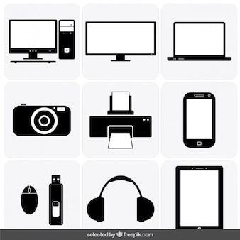 Gadget iconen collectie