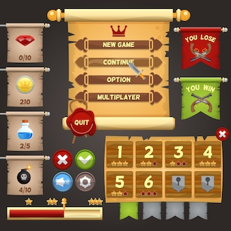 Game interface ontwerp