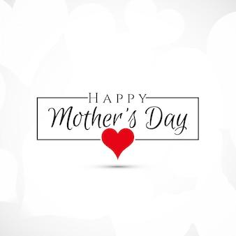 Gelukkige moedersdag elegante achtergrond
