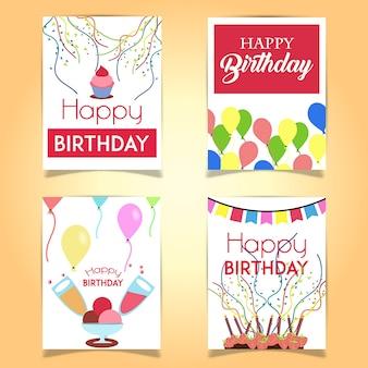 Gelukkige Verjaardagskaarten