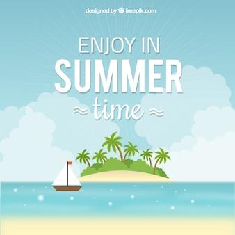 Geniet in de zomer