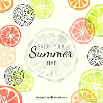 Geniet van uw zomer