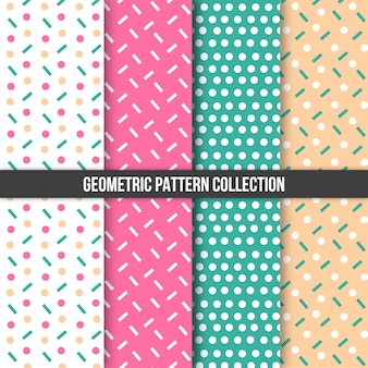 Geometrisch patroon collectie