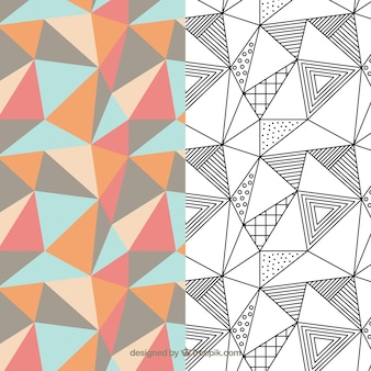 Geometrisch patroon Pack