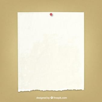 Gescheurd papier