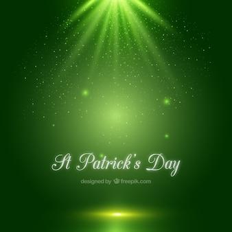 Glanzende St Patricks achtergrond