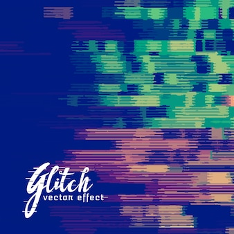 Glitch signaal error vector achtergrond