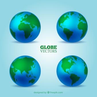 Globes collectie