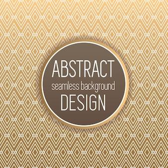 Gouden abstracte patroon achtergrond
