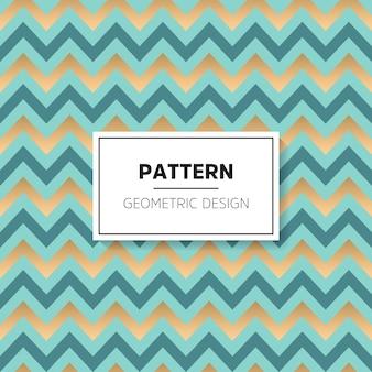Gouden geometrisch patroon