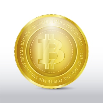 Gouden muntenontwerp