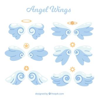 Gouden vleugels en symbolen