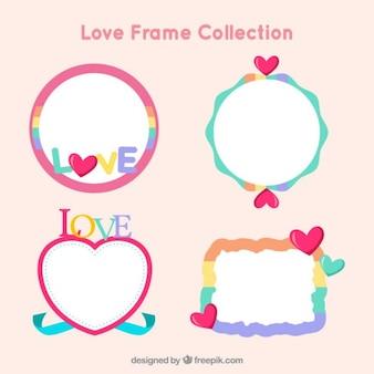 Grappige liefde frames