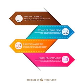 Gratis infografie ontwerp