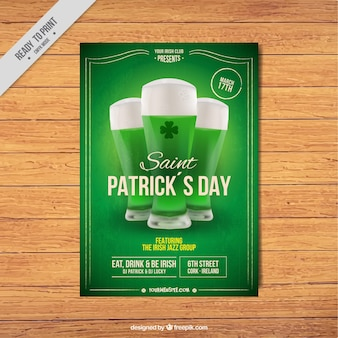 Green patrick dag leaflet