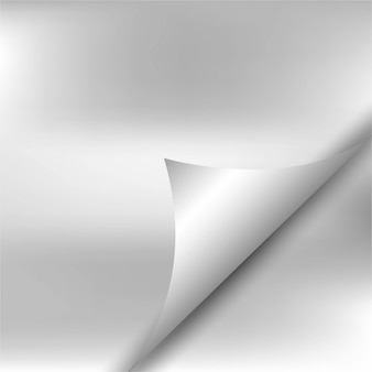 Grey paper krulachtergrond