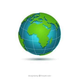 Grote aarde wereldbol