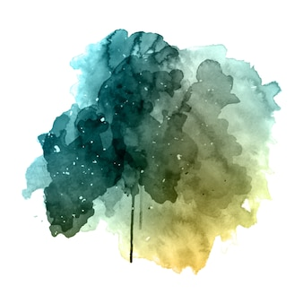 Grunge aquarel achtergrond