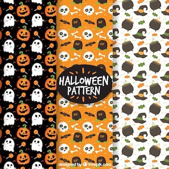 Halloween patroon collectie