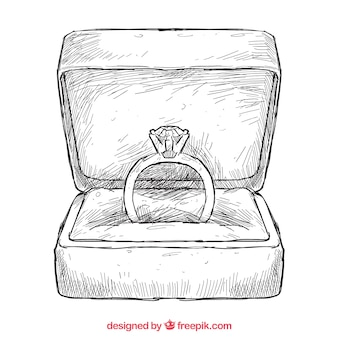 Handgetekende ring