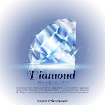 Heldere diamant achtergrond