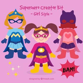 Het meisje van Superhero
