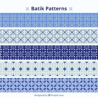 Het verzamelen van decoratieve mozaïek patronen
