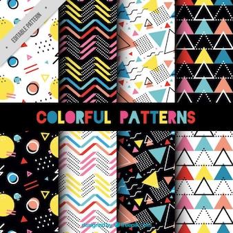 Het verzamelen van Memphis patroon