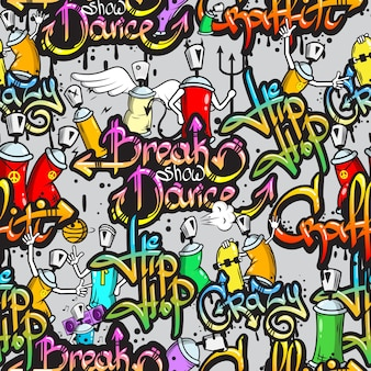 Hip hop achtergrond