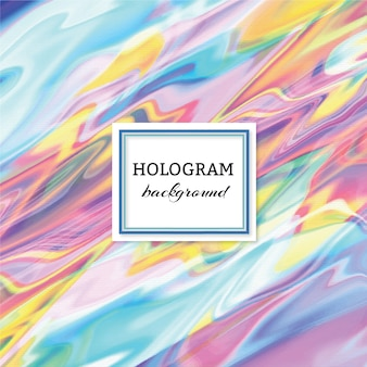 Hologram achtergrond